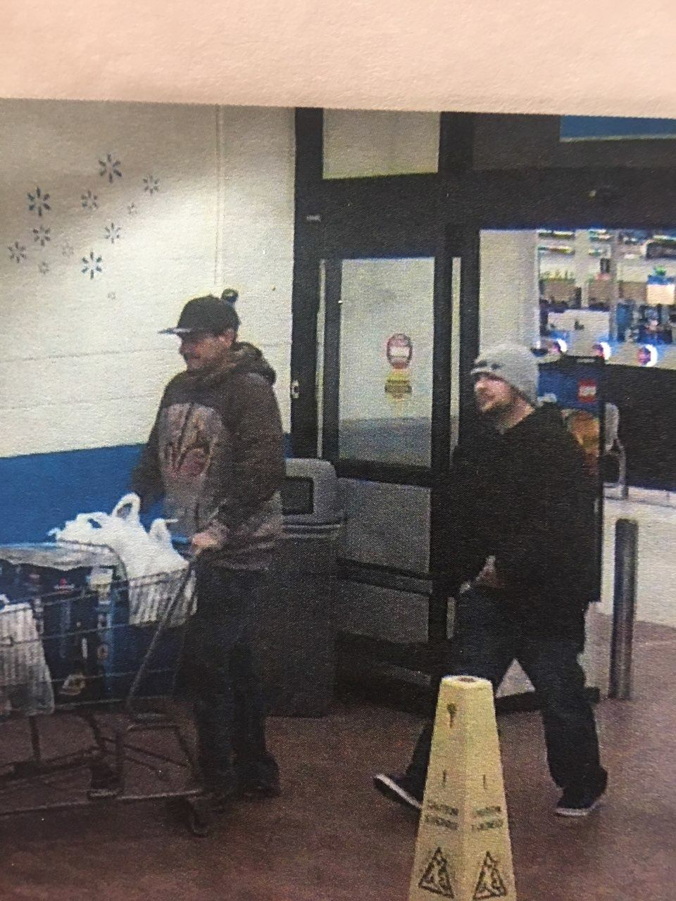 If you recognize either of these people, call Crime Stoppers at 918-596-COPS. (Tulsa Police Department)