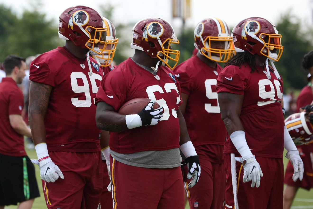Although football is a few months away, the Washington Redskins are training hard at their facility in Richmond, Virginia, to prepare for the coming season. (Amanda Andrade-Rhoades/DC Refined)