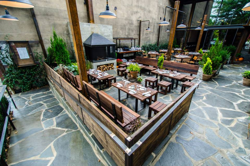 The patio at this 14th Street stalwart never slows down, even in the dead of winter. (Image: Courtesy Barcelona Wine Bar)<p></p>
