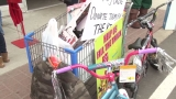 "Walmart and Dakota County Emergency Personnel ""Fill the Truck"" for Siouxland kids"