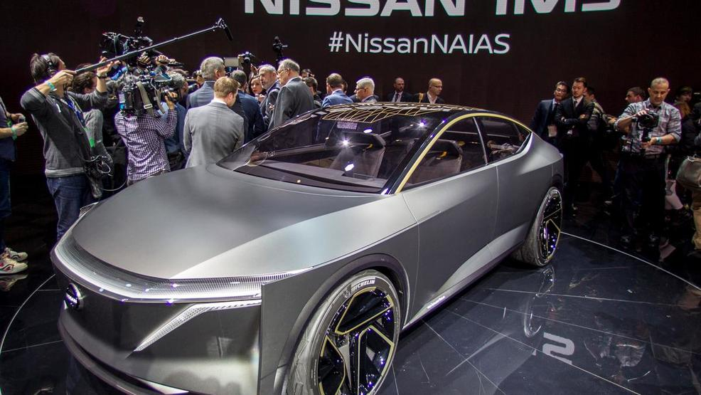 Naias 2019 Electric Cars Are On The Rise At Detroit Auto Show