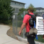 Veteran walking to four corners of U.S. to bring awareness to PTSD enters Medford