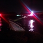 Authorities: Powerboat caught fire, sank in Providence River