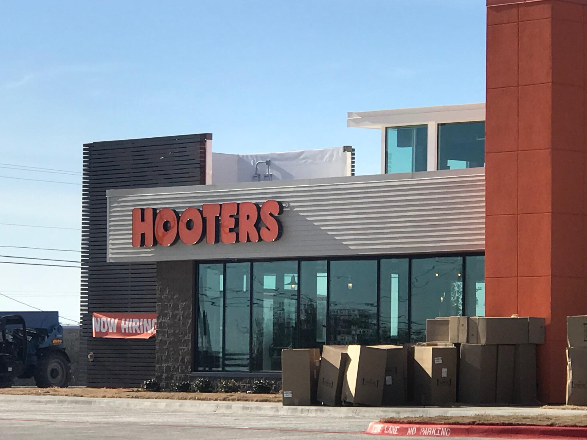Photo by Nick Bradshaw/KTXS News: Hooters restaurant plans to open its doors in northeast Abilene on Tuesday.<p></p>