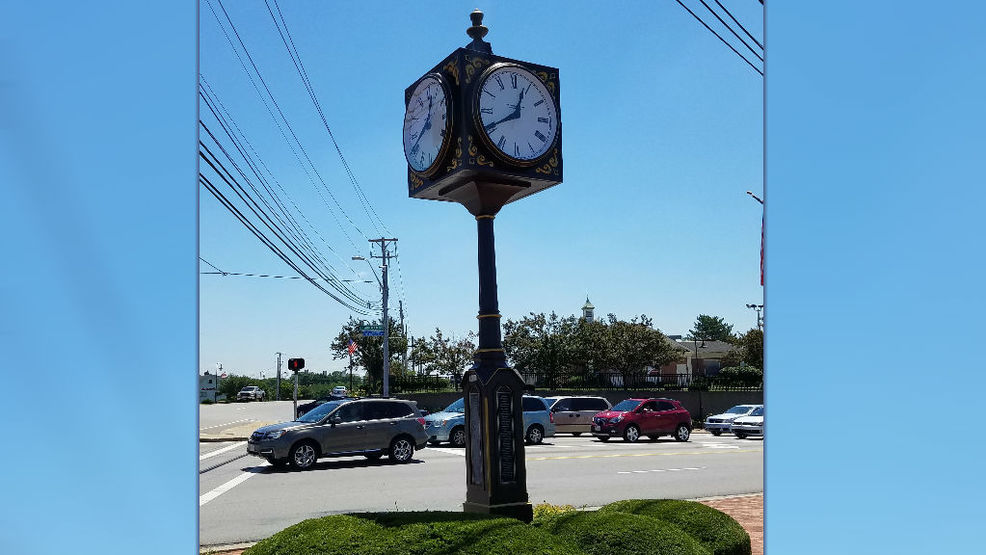Beavercreeku0027s Commemorative Clock Tower Returns To Intersection After  Repairs