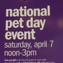 Gordman's celebrates National Pet Day