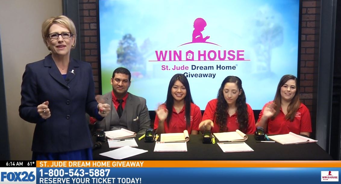 The St. Jude Dream Home phone bank is ready to take your call
