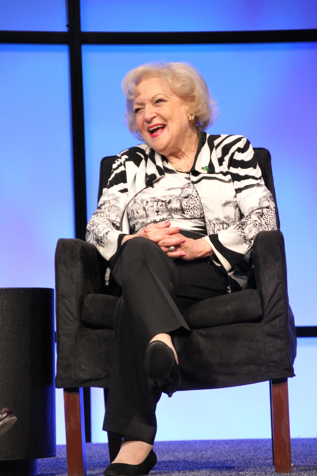 Betty White Porn Captions - Betty White Betty White Inducted Into The NAB Broadcasting Hall of Fame at  NAB Las Vegas