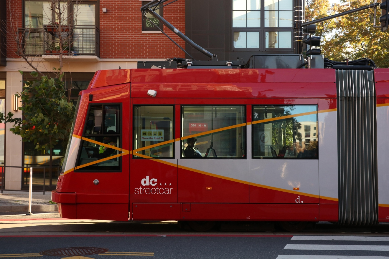 It took years for H Street's streetcar to become a reality. (Amanda Andrade-Rhoades)