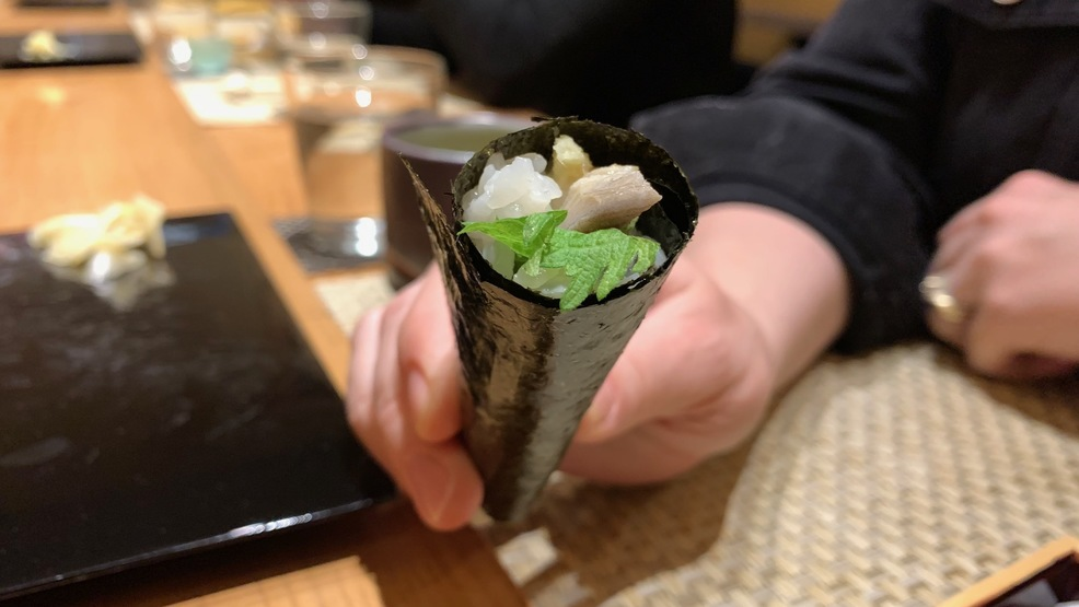 "If you are a big sushi fan,<a  href=""http://seattlerefined.com/eat-drink/ravennas-wataru"" target=""_blank"" title=""http://seattlerefined.com/eat-drink/ravennas-wataru"">{&nbsp;}you have to try Wataru.</a>{&nbsp;}We indulged in 24 courses throughout our two hours of eating. It was all worth it. I had to keep reminding myself to slow down and take in the experience; to take pleasure in and enjoy the subtle nuances in flavor and texture that fresh refined sushi presents and to appreciate the handmade sake cups. (Image: Frank Guanco / Seattle Refined)"