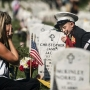 FLAGS IN: Soldiers place 230,000 American flags at Arlington National Cemetery