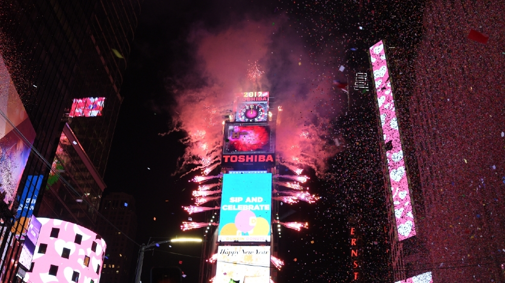 GALLERY: 2017 New Year's celebrations in Times Square