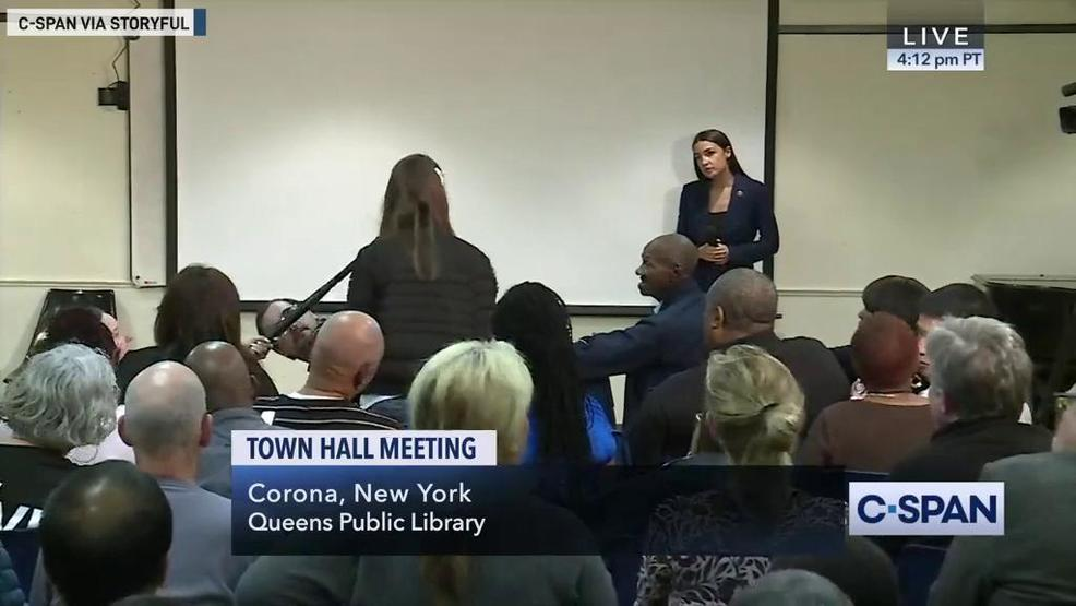 Ocasio-Cortez town hall hears bizarre climate change Proposal - ABC NEWS 4