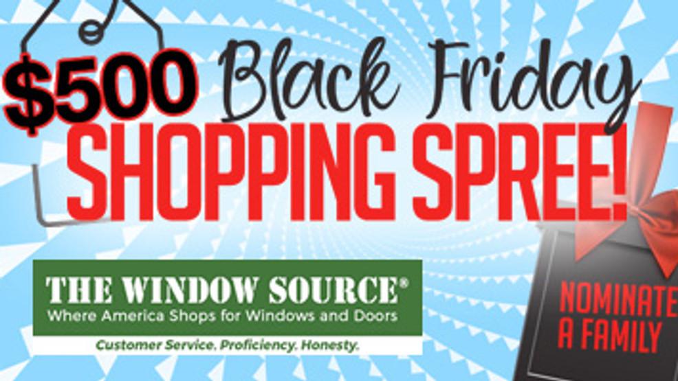 500 Black Friday Shopping Spree Woai