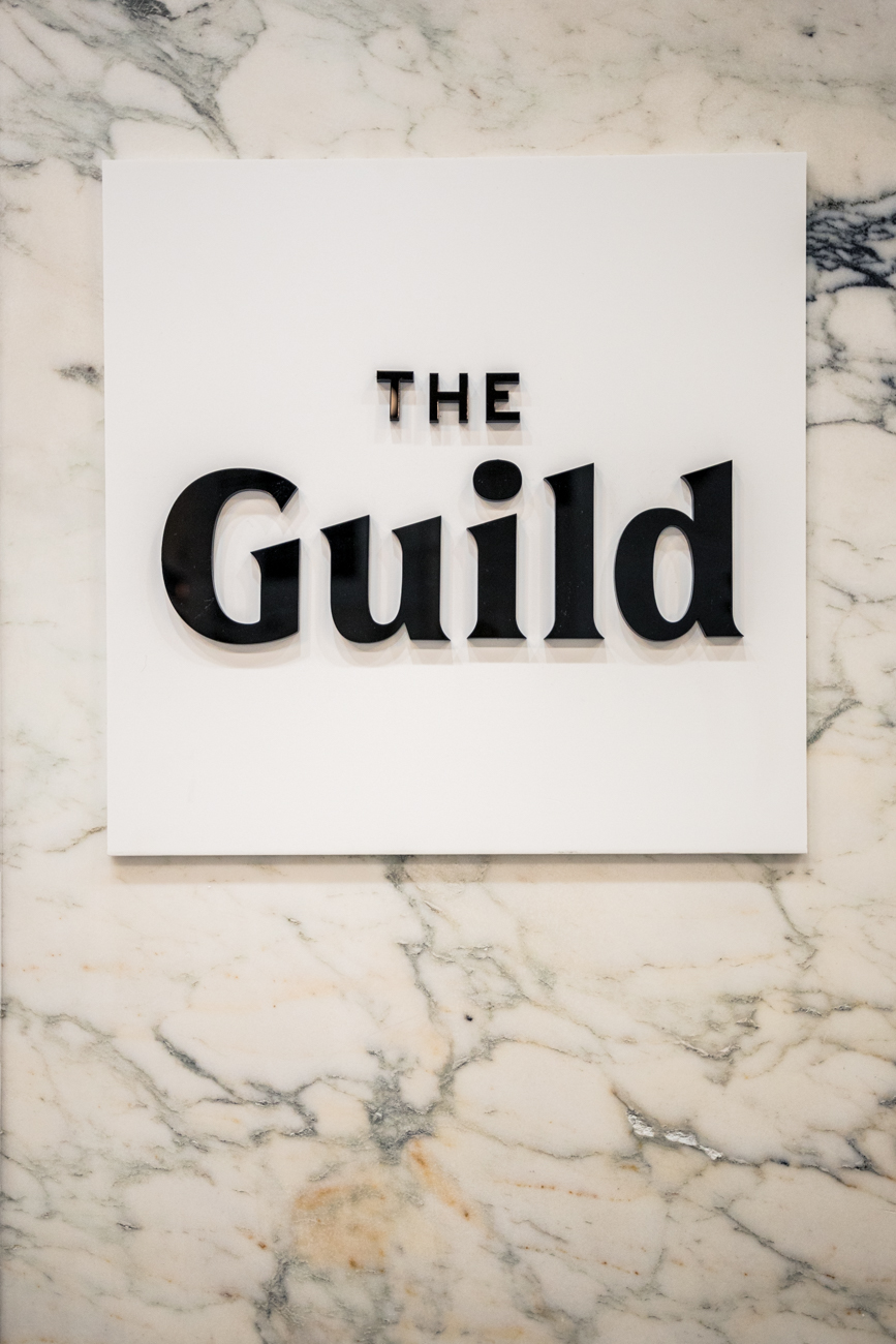 "<p>There are two Cincinnati locations for The Guild—one Downtown (pictured throughout this gallery) and one on The Banks. They also have hotels in Denver, Miami, Dallas, and Austin, all of which are situated in upscale residential buildings in their respective cities, as well. Its centrally located, Downtown Cincinnati site places guests in walking distance of Fountain Square, Over-the-Rhine, and plenty of bars, restaurants, and attractions. For more details and to book your stay, visit their{&nbsp;}<a  href=""https://theguild.co/destinations/cincinnati/downtown-vine/"" target=""_blank"" title=""https://theguild.co/destinations/cincinnati/downtown-vine/"">website</a>. / Image: Catherine Viox // Published: 1.1.21</p>"