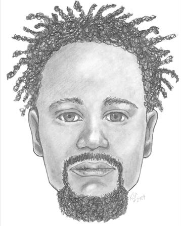 Composite sketch one of the men wanted for an attack on a woman on the Washington and Old Dominion Trail on Aug. 17, 2016. (Loudoun County Sheriff's Office)