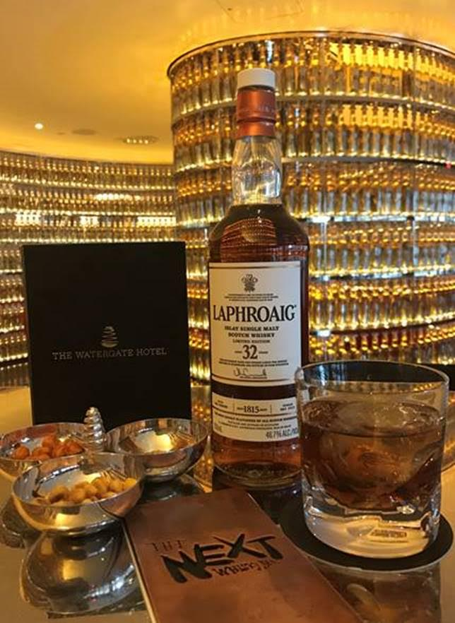 Laphroaig 32 Year 200th Anniversary addition at The Next Whisky Bar  (Image: Courtesy The Next Whiskey Bar)