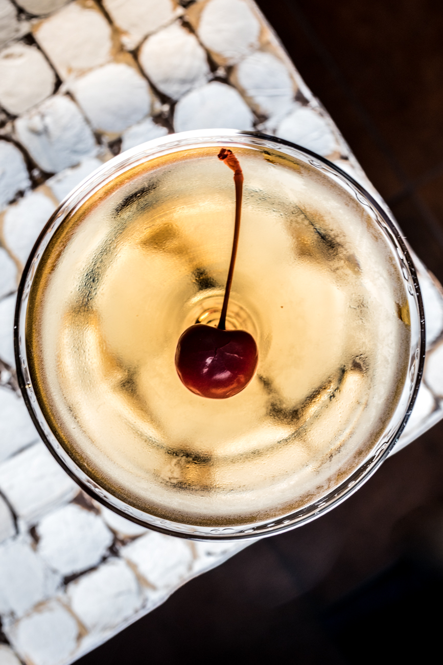Tequila Manhattan: reposado tequila, mezcal, vermouth, Angostura, and orange bitters / Image: Catherine Viox{ }// Published: 1.23.20