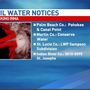 Boil water notices county by county