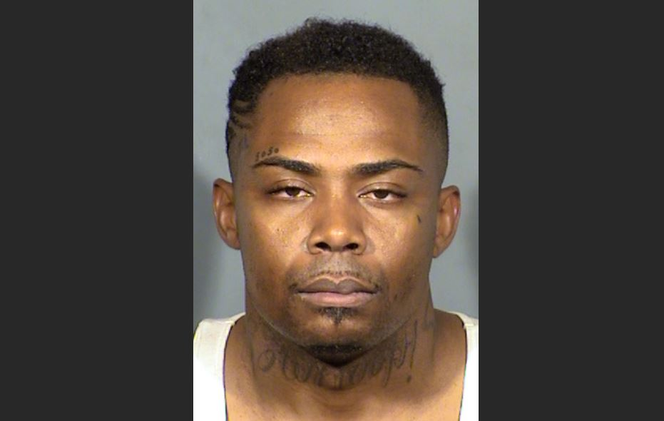 Andrew Brooks, 30, suspected in multiple 7-Eleven robberies, was tied to video poker machine fingerprints. (LVMPD/KSNV)