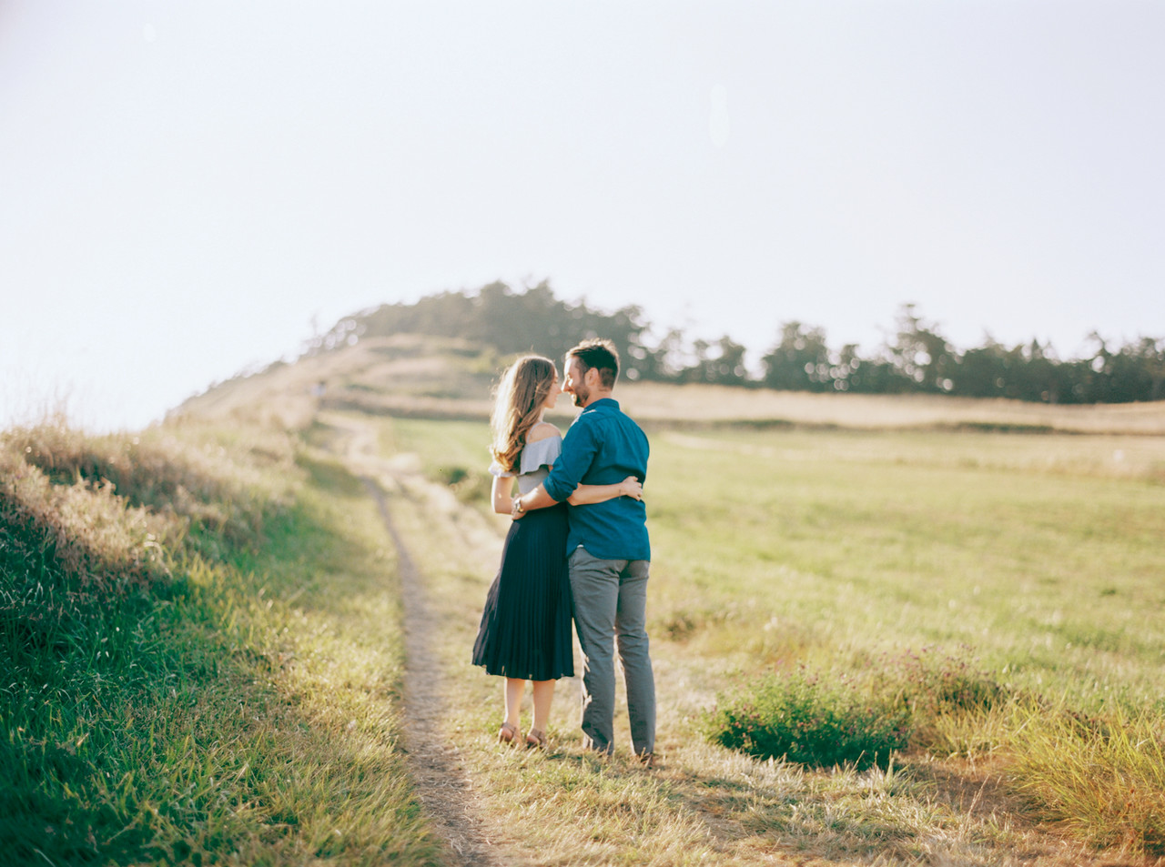 We continue our Documenting Love series with Jaime & Matt's engagement shoot on Whidbey Island's Ebey's Landing and on a Lavendar Farm on the Island. The couple spent the day with the photographer extraordinaire, Blue Rose Photography and snapped these beautiful shots.  Click through the gallery and get inspo, or to just gaze upon the beauty that is this engagement shoot. Do you or somebody you know have a wedding you think deserves the spotlight? We LOVE (pun intended) documenting love stories, so email us at hello@seattlerefined.com to submit some wedding or engagement shots! (Image: Blue Rose Photography)
