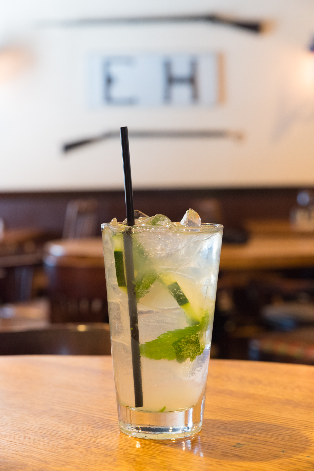 Cucumber mojito with local maple syrup (Maple Grove Farms) / Image: Sherry Lachelle Photography