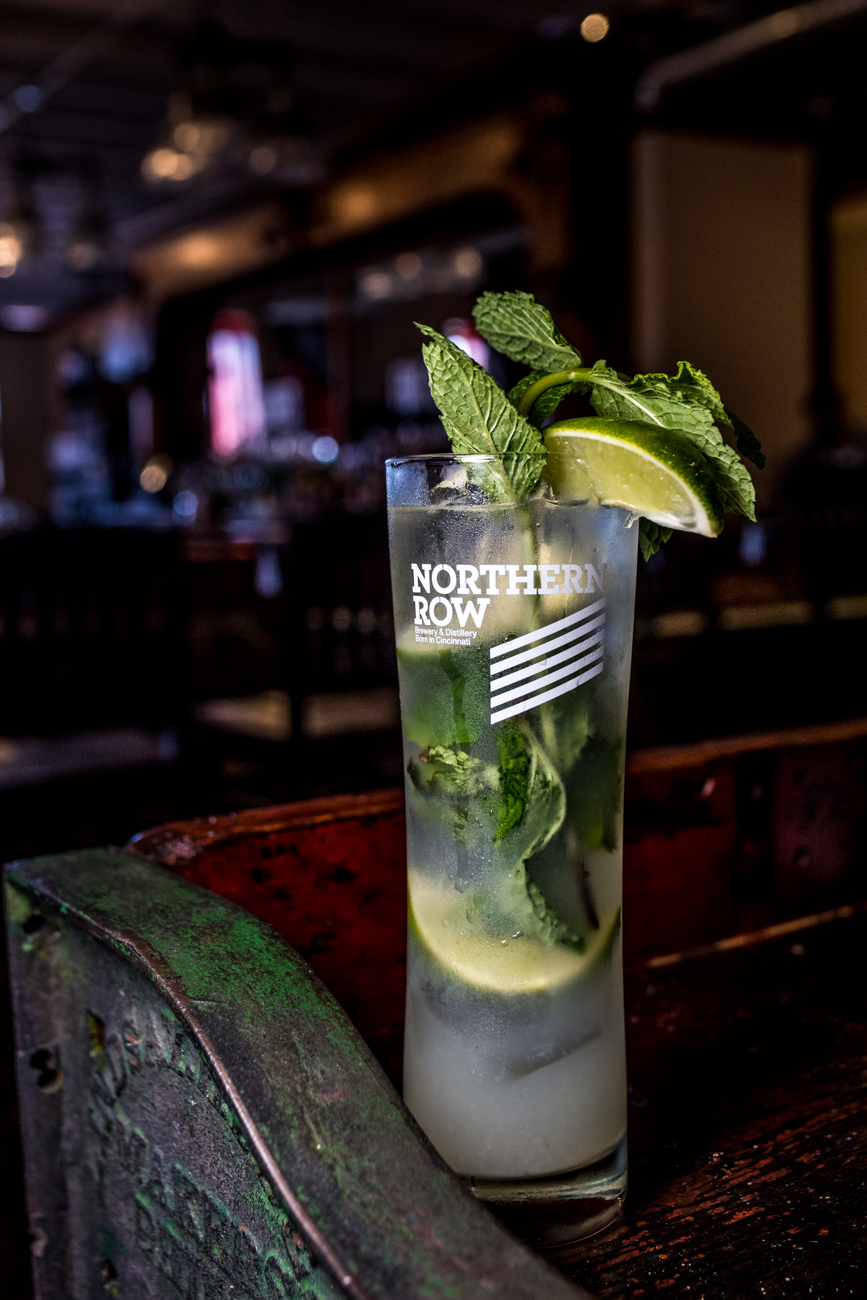 Mojito: light rum, lime, mint, sugar, and soda served over ice / Image: Catherine Viox // Published: 7.16.20