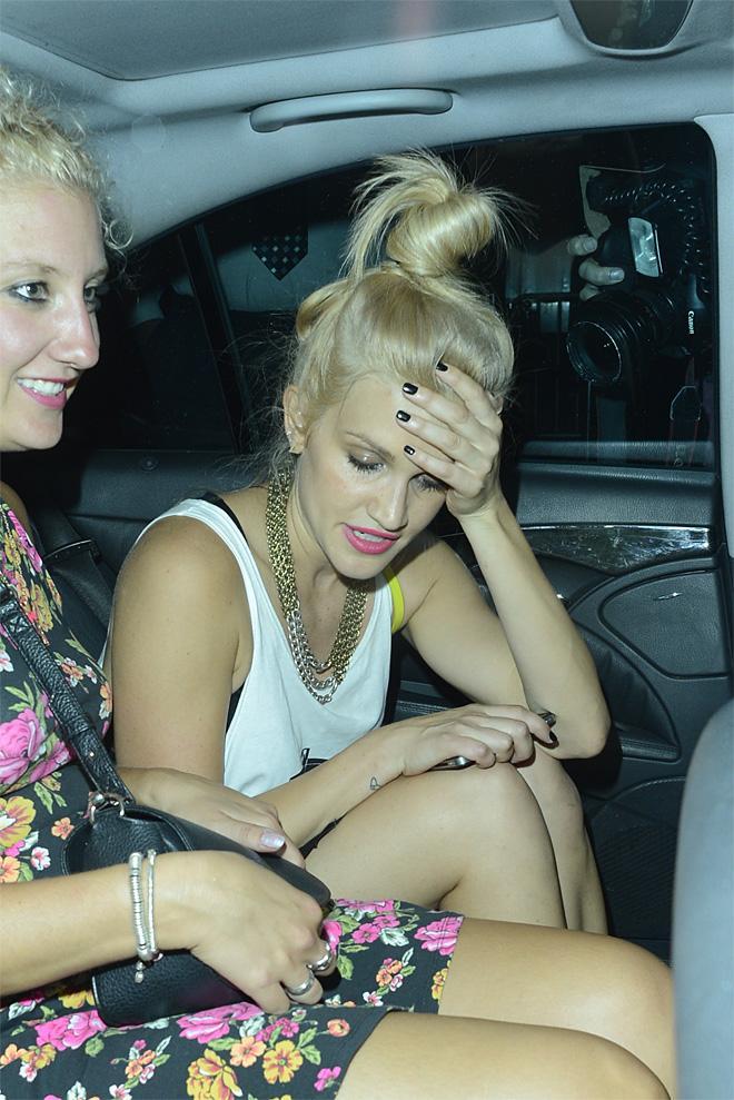 Celebrities drunk in public