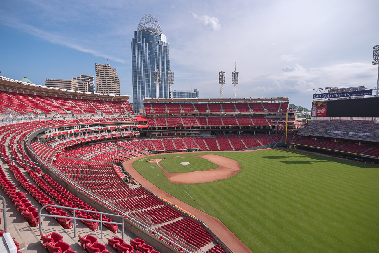Take A Photographic Tour Of Great American Ball Park
