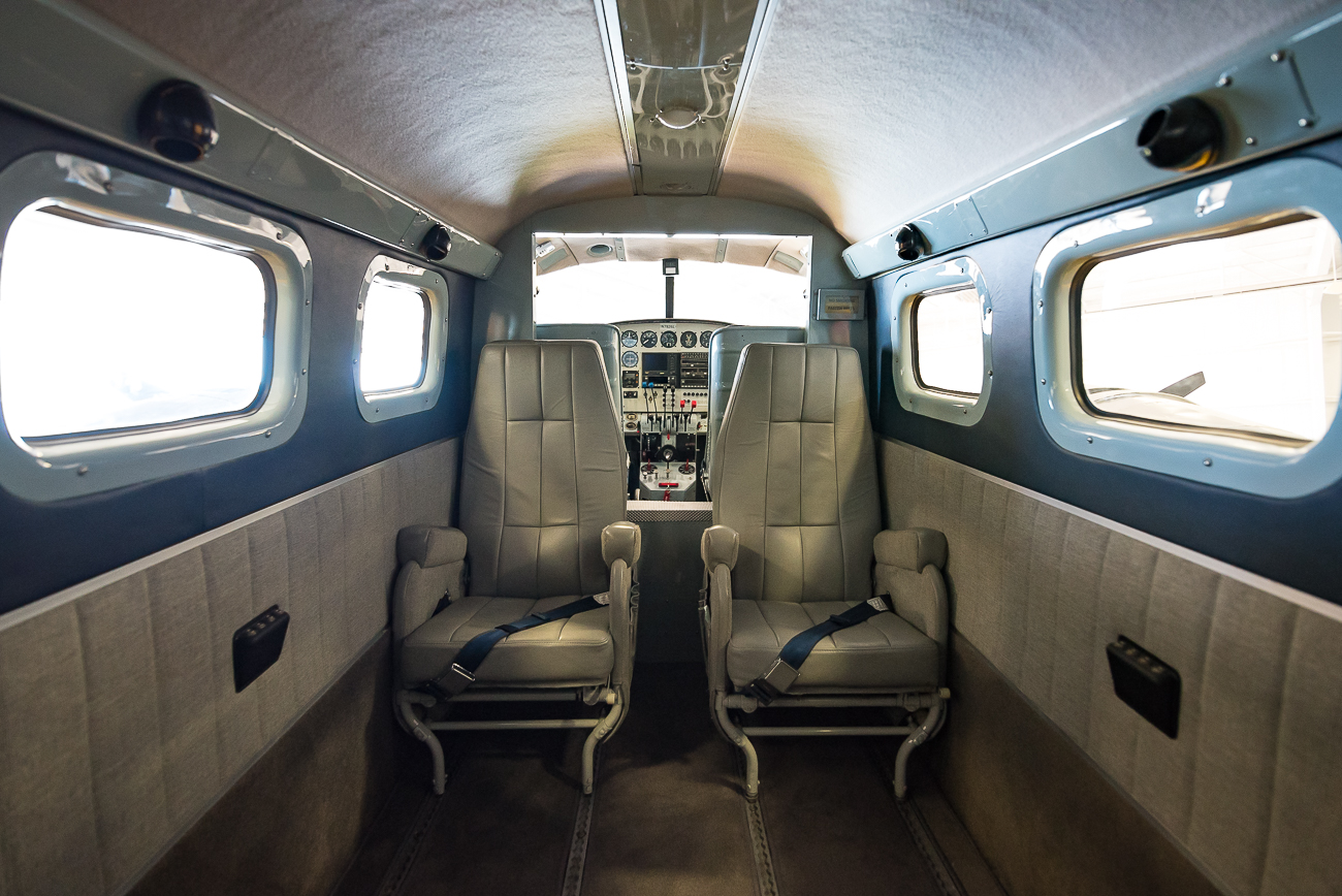 Cabin of a TC-45H / Image: Phil Armstrong, Cincinnati Refined // Published: 9.6.17