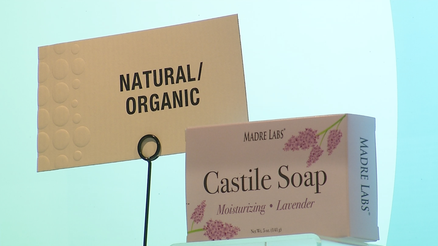 Bradford Soap makes specialty soaps for a variety of companies. (WJAR)