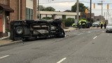 Rollover crash kills cab driver in downtown Nashville