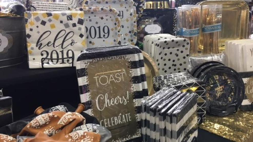 party supplies for new years eve are selling out fast kval