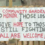Preparing a community garden to honor local families affected by opioid crisis