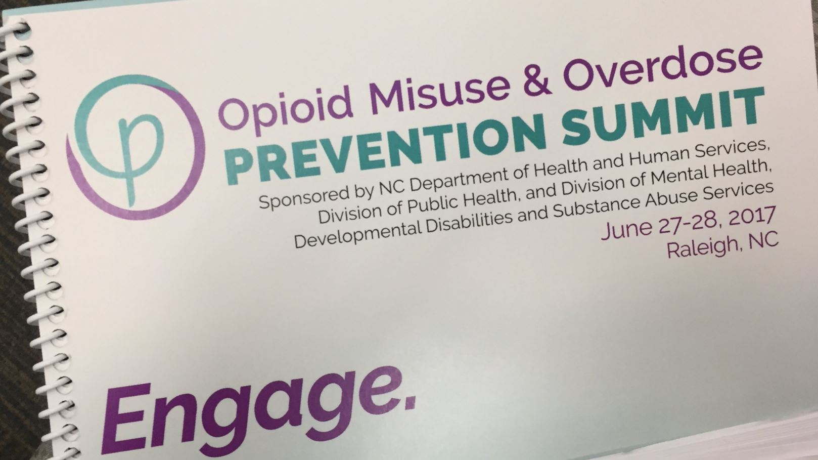 Gov. Roy Cooper announced North Carolina's Opioid Action Plan on Tuesday as the state held a summit on how to stop misuse and overdoses of the popular drugs. (Photo credit: WLOS Staff)
