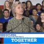 Clinton campaigning in Florida;  promotes early voting