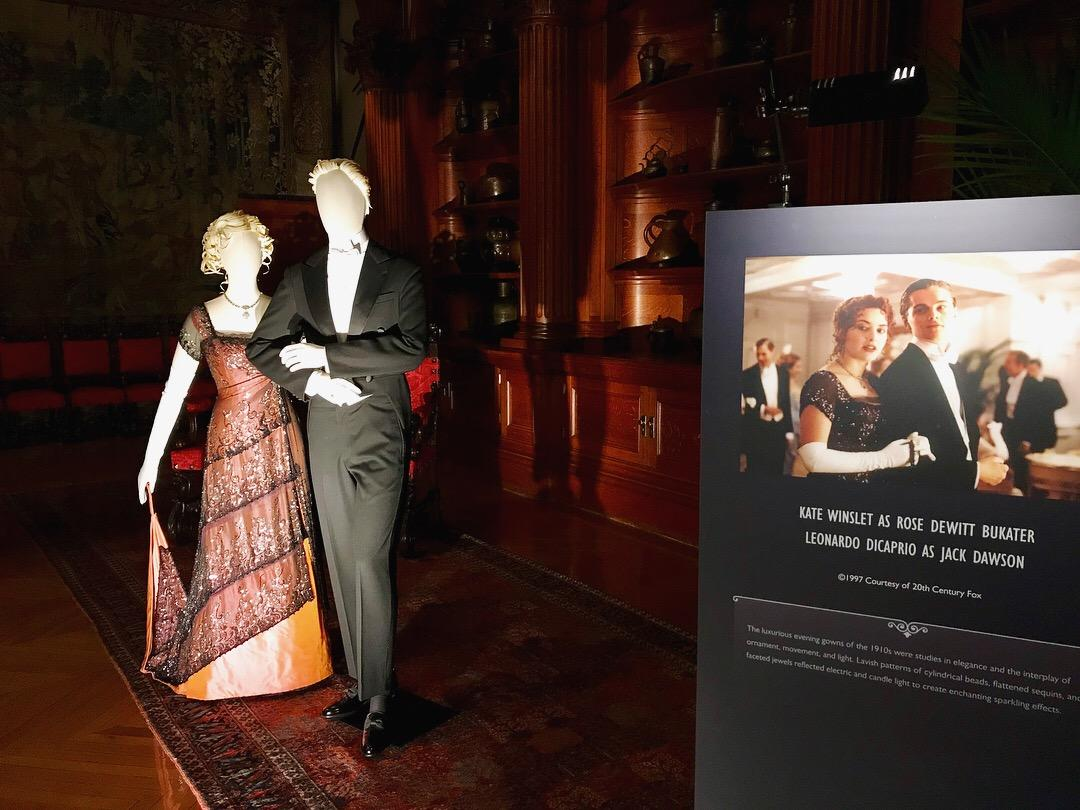 "If you are a fan of the hit-movie Titanic, you will love an exhibit at the Biltmore Estate in Asheville. It's called ""Glamour on Board: Fashion from Titanic the Movie."" (Photo Credit: WLOS Staff)."