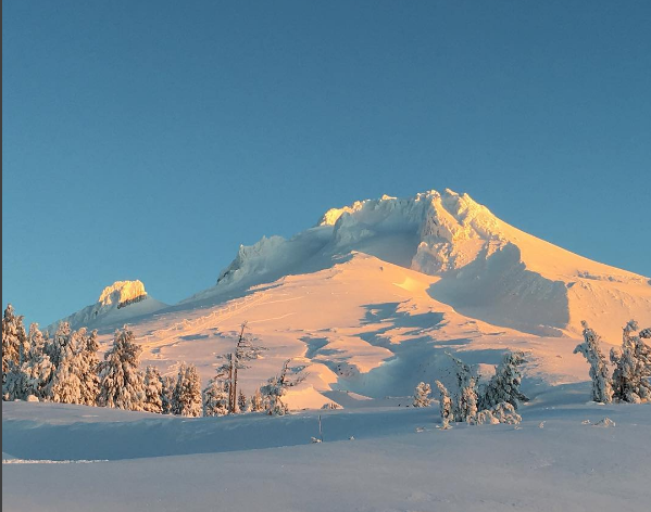 Mount Hood (Courtesy Timberline Lodge, Instagram)