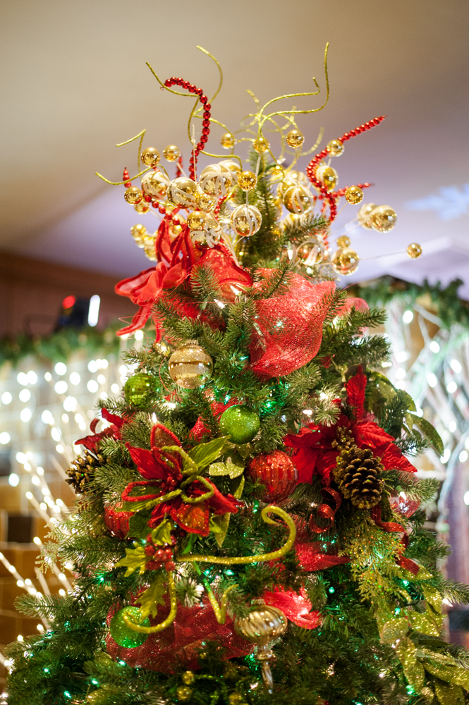 <p>Celebrate the Good Times - Located in the Fairmont Olympic Hotel in downtown Seattle, the annual Festival of Trees has officially kicked off this holiday season. Patrons can view the trees on display through December 2, 2018 - or bid on them for their home/office. Proceeds benefit Seattle Children's Hospital. (Image: Elizabeth Crook / Seattle Refined)</p>