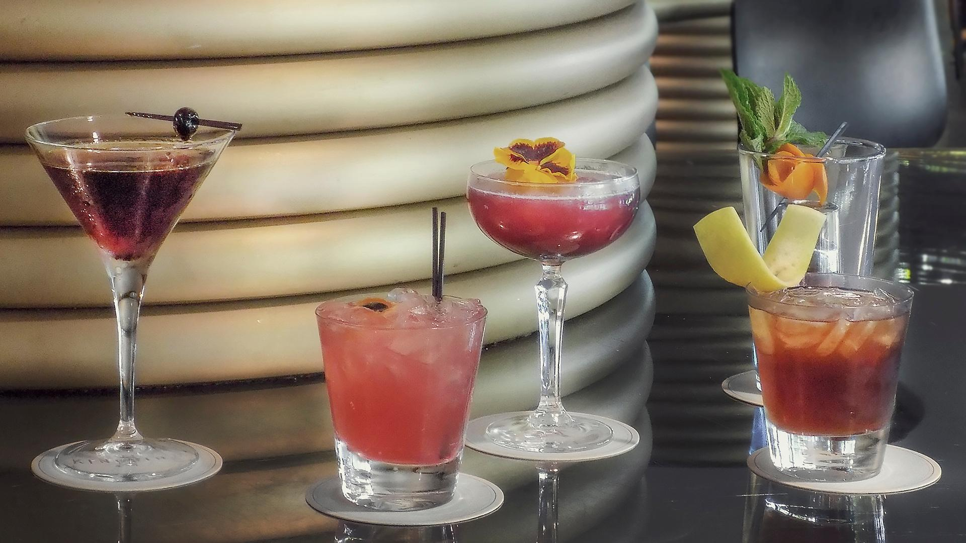 Kingbird, the Watergate Hotel's main bar, is offering several Hamilton-themed cocktails and a special after party on Fridays and Saturdays. (Image: Courtesy The Watergate Hotel)