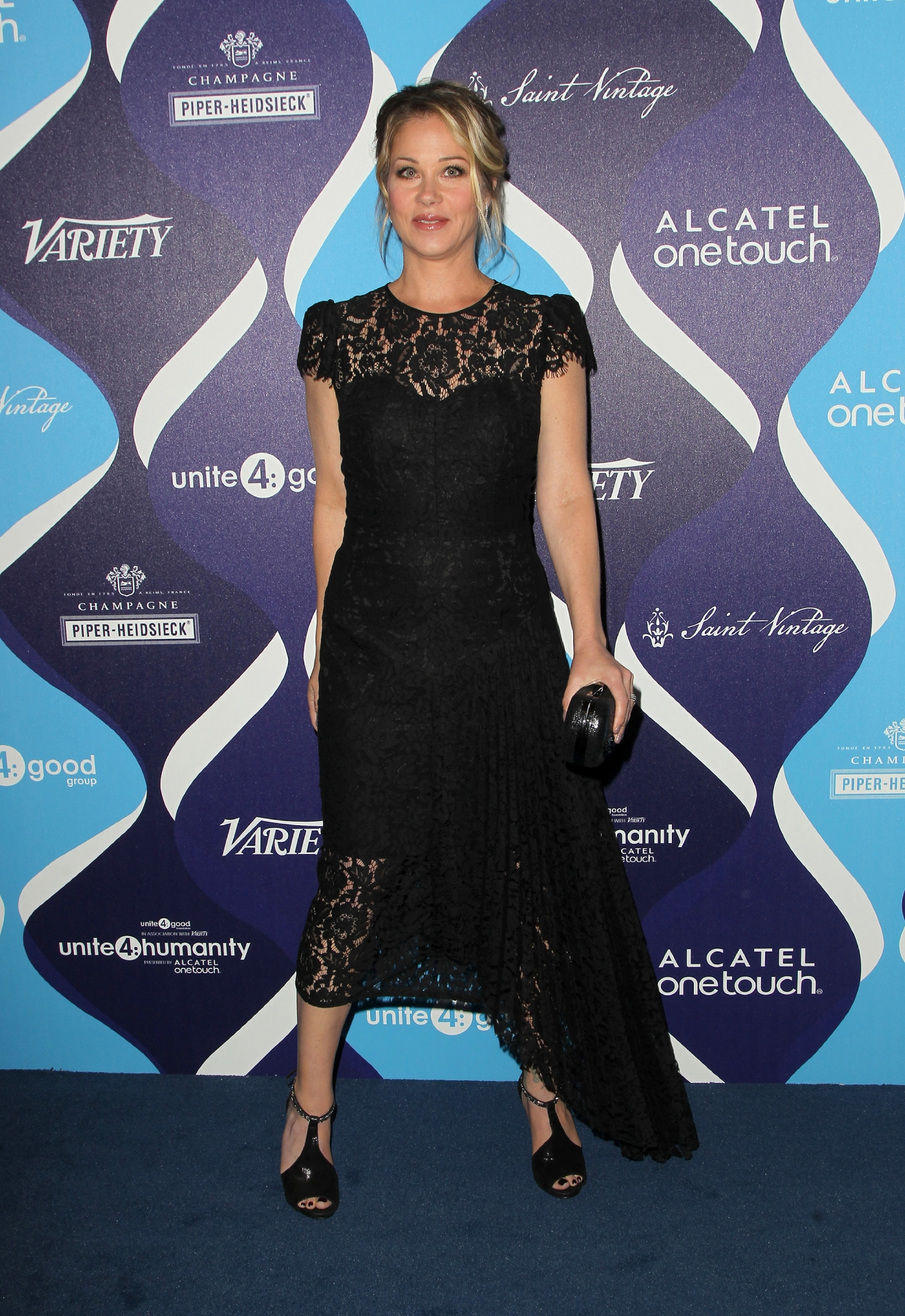 2nd Annual unite4:humanity Presented By ALCATEL ONETOUCH                                    Featuring: Christina Applegate                  Where: Beverly Hills, California, United States                  When: 20 Feb 2015                  Credit: FayesVision/WENN.com
