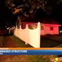 Crews respond to garage fire in Kalamazoo
