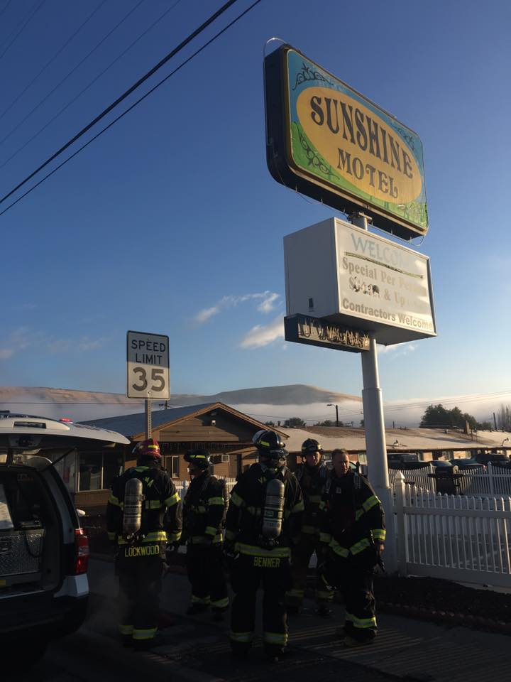 Sunshine Motel fire likely human-caused after nearby dumpster is set on fire