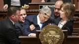 Minnesota Gov. Dayton, 69, collapses during State of the State speech