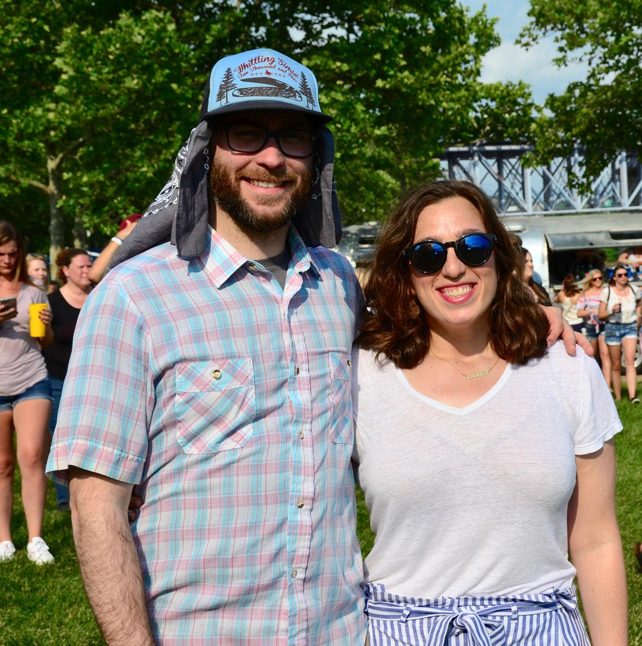 Sean McGill and Lauren Bernstein / Image: Leah Zipperstein, Cincinnati Refined // Published: 6.3.18