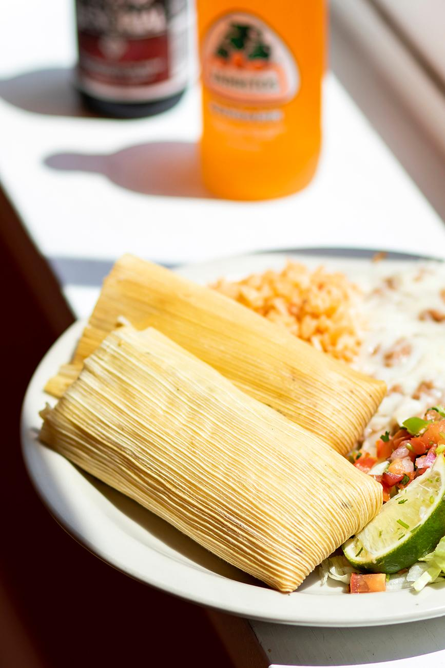 <p>Tamale Combo Platter / Image: Allison McAdams{&nbsp;}// Published: 8.20.19</p>
