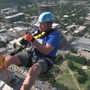 A thrill of a lifetime, rappel 20 stories down the US Bank building