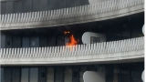 Fire breaks out on 13th floor at the Watergate Complex