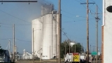Officials urge citizens to avoid area of grain elevator fire in Hereford