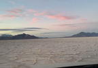 Driving around on the Bonneville Salt Flats during sunset. (Adam Forgie, KUTV) (9).png